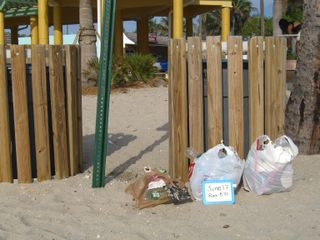 June 17, 2009 Litter pickup 2 bags