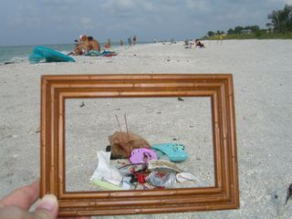 Litter Junee 21, 2009 Sanibel Island, FL Bag 1.jpg
