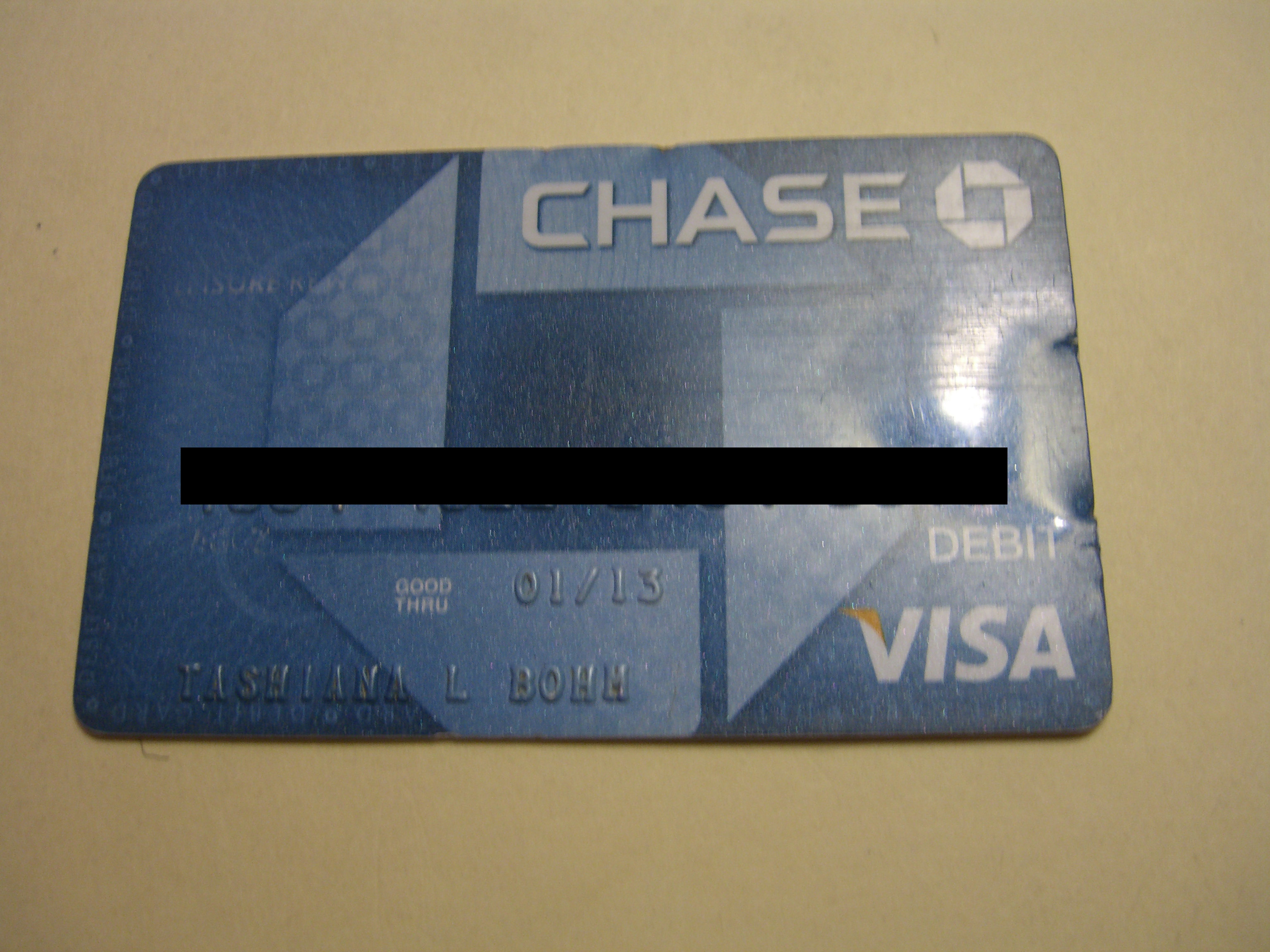FOUND: Chase Debit Card - Museum of Litter