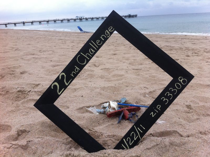 Litter  - 22nd Challenge - Jan. 22, 2011, LBTS, FL 33308
