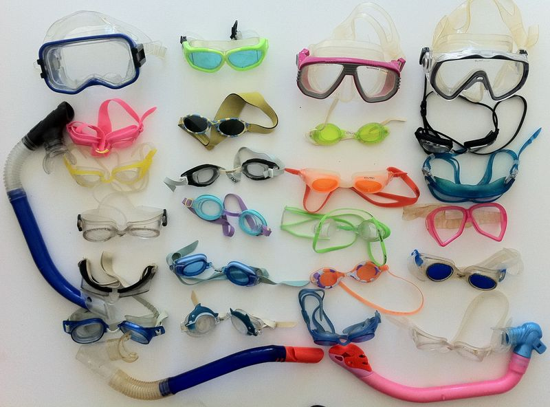 Collectios Masks Goggles Snorkles