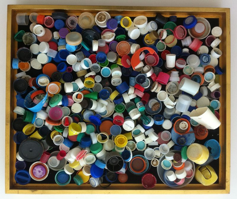 Collection Bottle Caps Plastic