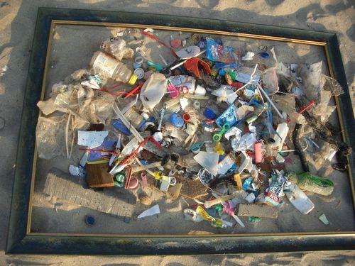 April 16, 2007 LBTS beach litter