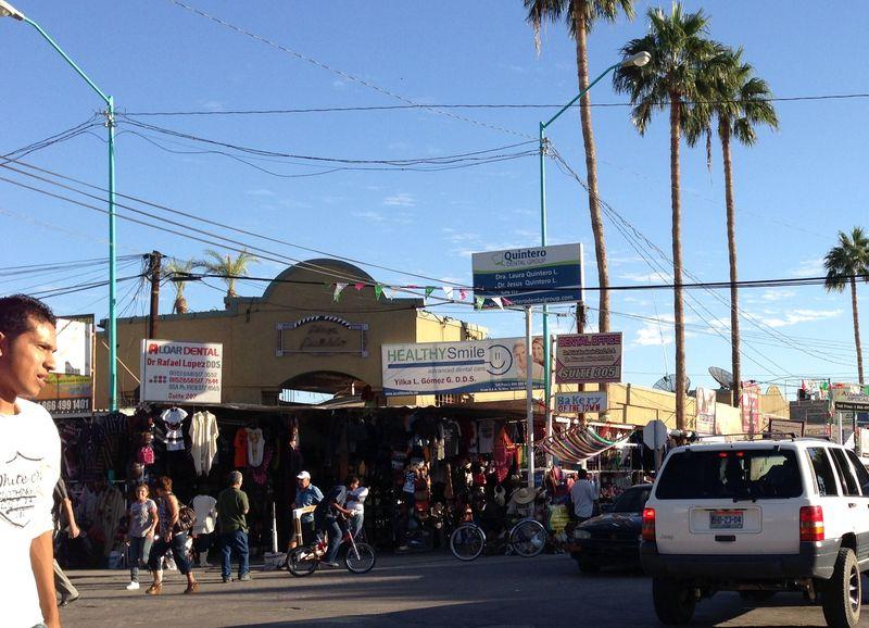 Algodones, Mexico Street Scene