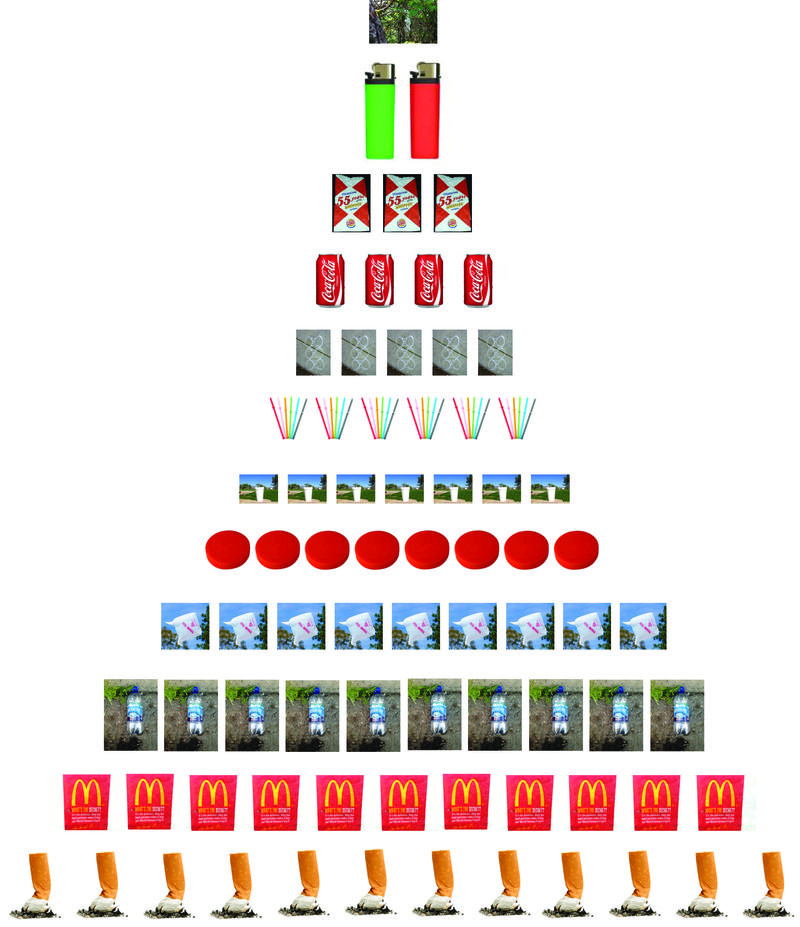 ART of 12 Days Christmas tree