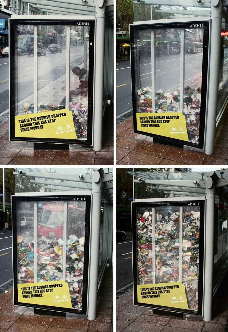Auckland Anti-Litter Campagin